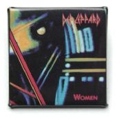 Def Leppard - 'Women' Square Badge